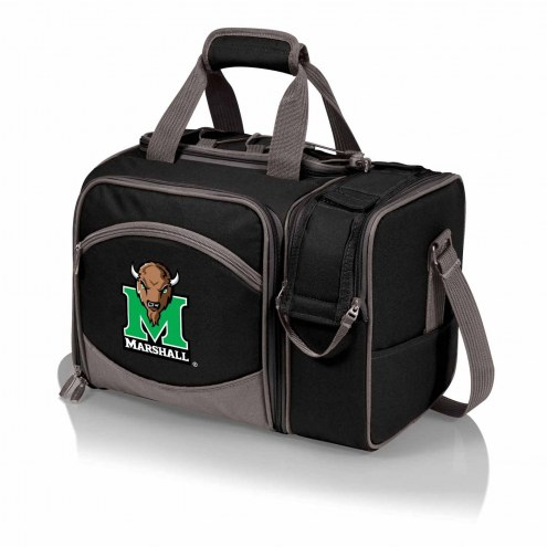 Marshall Thundering Herd Black Malibu Picnic Pack