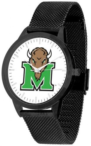Marshall Thundering Herd Black Mesh Statement Watch