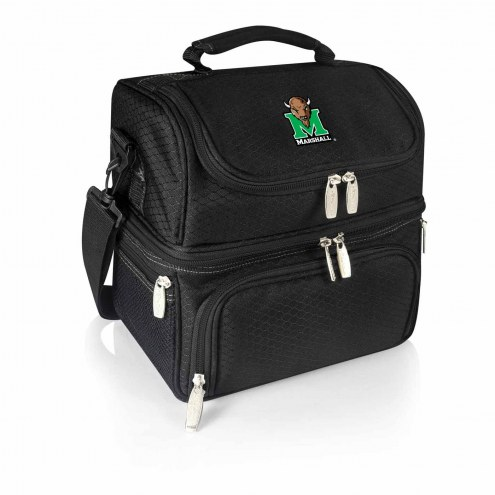 Marshall Thundering Herd Black Pranzo Insulated Lunch Box