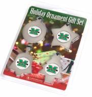 Marshall Thundering Herd Christmas Ornament Gift Set