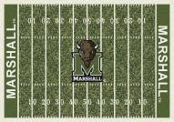 Marshall Thundering Herd College Home Field Area Rug