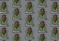 Marshall Thundering Herd College Repeat Area Rug