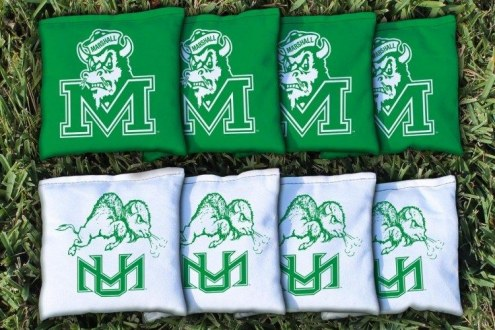Marshall Thundering Herd College Vault Cornhole Bag Set