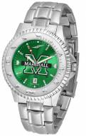 Marshall Thundering Herd Competitor Steel AnoChrome Men's Watch