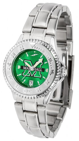 Marshall Thundering Herd Competitor Steel AnoChrome Women's Watch
