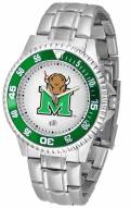 Marshall Thundering Herd Competitor Steel Men's Watch
