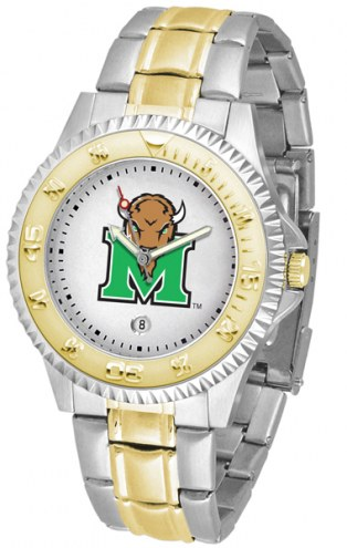Marshall Thundering Herd Competitor Two-Tone Men's Watch