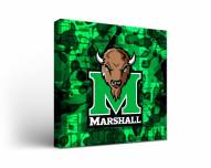 Marshall Thundering Herd Fight Song Canvas Wall Art