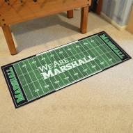 Marshall Thundering Herd Football Field Runner Rug