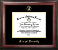 Marshall Thundering Herd Gold Embossed Diploma Frame