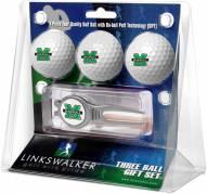 Marshall Thundering Herd Golf Ball Gift Pack with Kool Tool