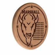 Marshall Thundering Herd Laser Engraved Wood Sign