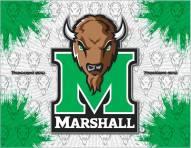 Marshall Thundering Herd Logo Canvas Print