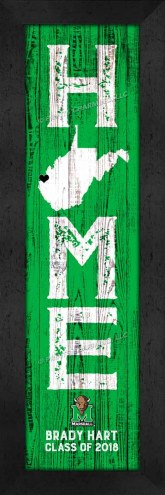 Marshall Thundering Herd Home Away From Home Personalized Wall Decor