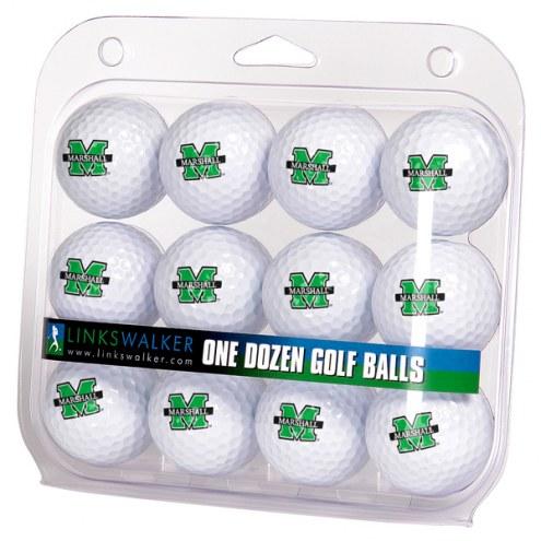 Marshall Thundering Herd Dozen Golf Balls