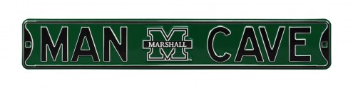 Marshall Thundering Herd Man Cave Street Sign