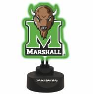 Marshall Thundering Herd Team Logo Neon Light