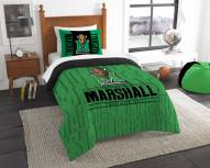 Marshall Thundering Herd Modern Take Twin Comforter Set