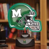 Marshall Thundering Herd Neon Helmet Desk Lamp