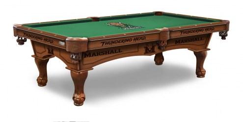 Marshall Thundering Herd Pool Table