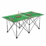 Marshall Thundering Herd Pop Up 6' Ping Pong Table