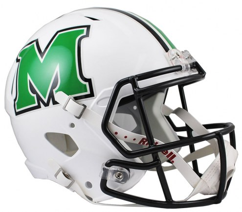 Marshall Thundering Herd Riddell Speed Collectible Football Helmet