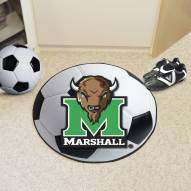 Marshall Thundering Herd Soccer Ball Mat