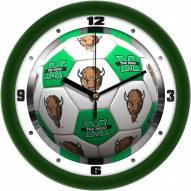 Marshall Thundering Herd Soccer Wall Clock
