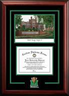 Marshall Thundering Herd Spirit Graduate Diploma Frame