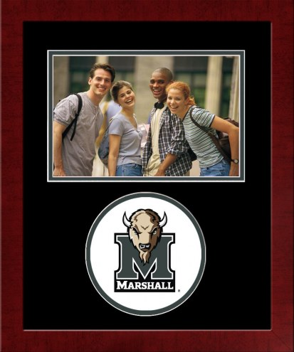 Marshall Thundering Herd Spirit Horizontal Photo Frame