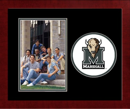 Marshall Thundering Herd Spirit Vertical Photo Frame