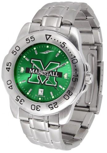 Marshall Thundering Herd Sport Steel AnoChrome Men's Watch