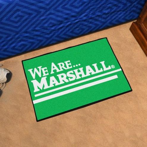 Marshall Thundering Herd Starter Rug