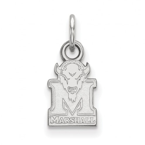 Marshall Thundering Herd Sterling Silver Extra Small Pendant