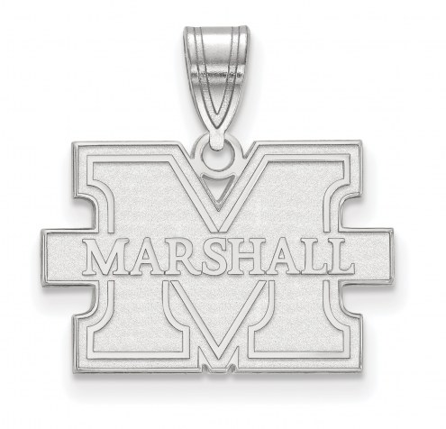 Marshall Thundering Herd Sterling Silver Medium Pendant