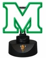 Marshall Thundering Herd Team Logo Neon Lamp