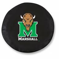 Marshall Thundering Herd Tire Cover