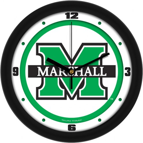 Marshall Thundering Herd Traditional Wall Clock