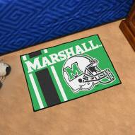 Marshall Thundering Herd Uniform Inspired Starter Rug