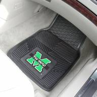 Marshall Thundering Herd Vinyl 2-Piece Car Floor Mats