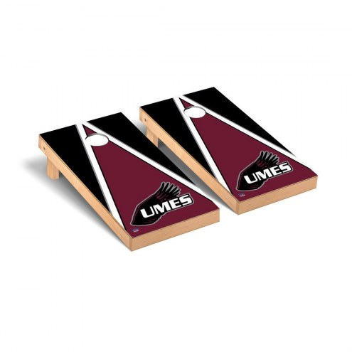 Maryland Eastern Shore Hawks Triangle Cornhole Game Set