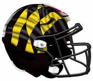 "Maryland Terrapins 12"" Helmet Sign"