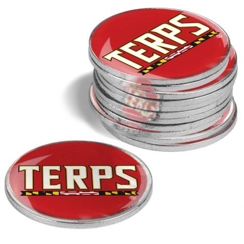 Maryland Terrapins 12-Pack Golf Ball Markers