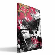 "Maryland Terrapins 16"" x 24"" Spirit Canvas Print"