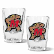 Maryland Terrapins 2 oz. Prism Shot Glass Set