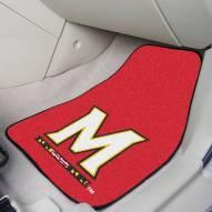 Maryland Terrapins 2-Piece Carpet Car Mats