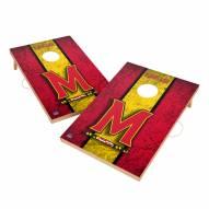 Maryland Terrapins 2' x 3' Vintage Wood Cornhole Game