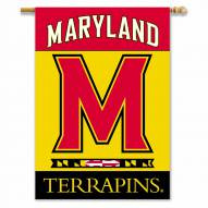 "Maryland Terrapins 28"" x 40"" Two-Sided Banner"