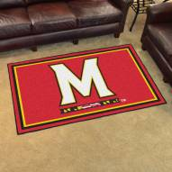 Maryland Terrapins 4' x 6' Area Rug