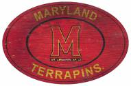 """Maryland Terrapins 46"""" Heritage Logo Oval Sign"""